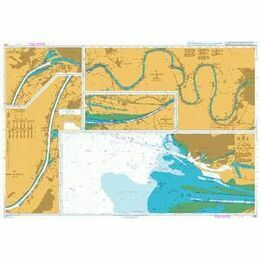 2879 La Seine - La Havre to Rouen Admiralty Chart