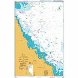 2882 Ra's Tannurah to Jazirat Faylakah and Jazireh-ye Khark Admiralty Chart