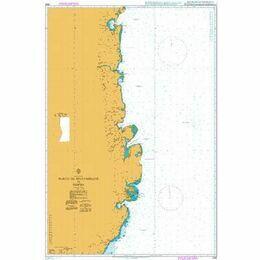 2926 Porto de Mozambique to Pemba Admiralty Chart