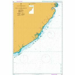 2933 Ilha Epidendron to Porto de Mozambique Admiralty Chart