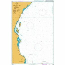 2949 Mtwara to Lamu Admiralty Chart
