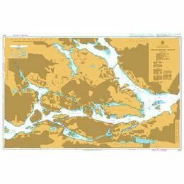 3114 Stockholms Hamn Admiralty Chart