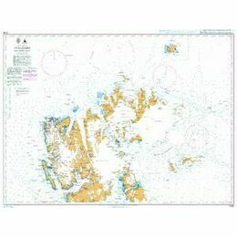 3136 Arctic Ocean, Svalbard, Northern Part Admiralty Chart