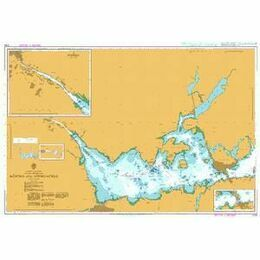 800 Sweden - East Coast, Malaren - Western Part, Koping and Approaches Admiralty Chart