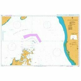 3172 Strait of Hormuz Admiralty Chart