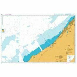 3176 `Ajman to Sir Abu Nu`Ayr Admiralty Chart