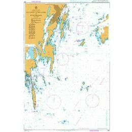 837 East Coast Stockholms Skargard, Landsort to Nynashamn Admiralty Chart