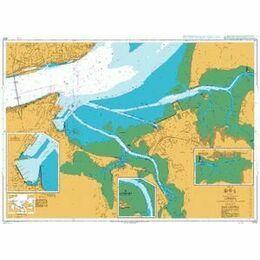 3222 Lisboa, Alcantara to Canal do Montijo Admiralty Chart