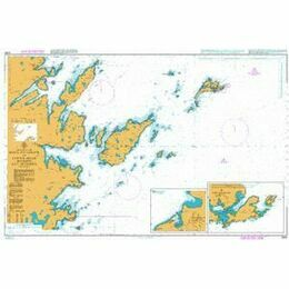 3284 Moul of Eswick to Lunna Holm Admiralty Chart