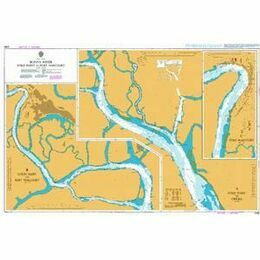 3288 Bonny River Ford Point to Port Harcourt Admiralty Chart