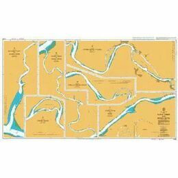 3306 Nana Creek and Benin River Admiralty Chart