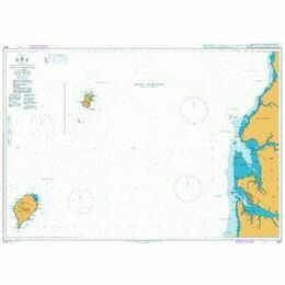 3327 Bata to Libreville including Ilhas do Principe and de Sao Tome Admiralty Chart