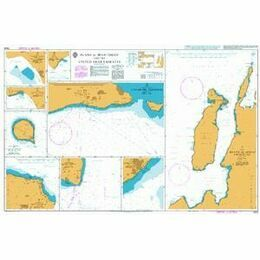 3409 Plans in Iran - Oman and the United Arab Emirates Admiralty Chart