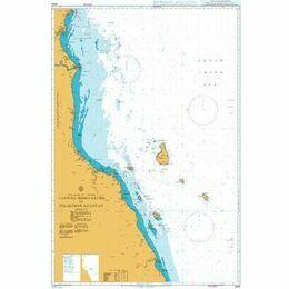 3445 Tanjung Sidili Kechil to Pelabahan Kuantan Admiralty Chart