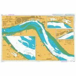 3497 River Humber - Immingham to Humber Bridge Admiralty Chart