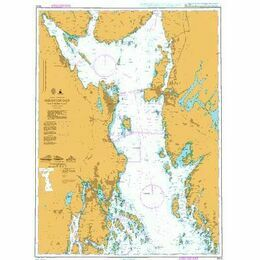 3500 Oslofjorden, Southern Part Admiralty Chart