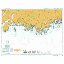 3517 Norway-south coast,Approaches to Mandal Admiralty Chart
