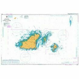 3654 Guernsey, Herm and Sark Admiralty Chart