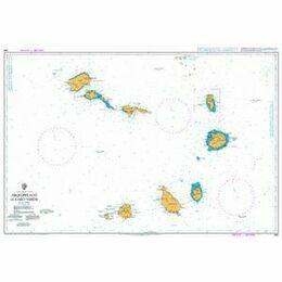 366 Arquipelago de Cabo Verde Admiralty Chart