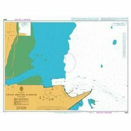 3662 Little Aden Oil Harbour Admiralty Chart