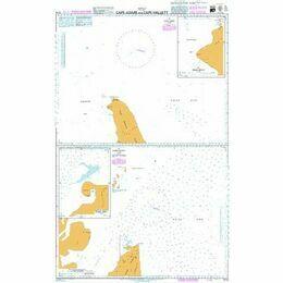 3714 Cape Adare and Cape Hallett Admiralty Chart