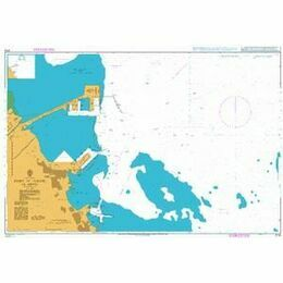 3718 Port of Al Jubayl Admiralty Chart