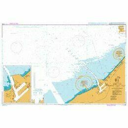 3739 Jebel Ali (Mina Jabal Ali) and Approaches Admiralty Chart