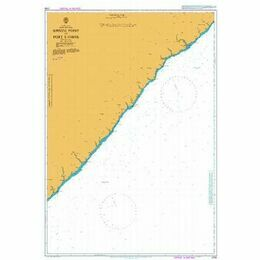 3793 Shixini Point to Port S Johns Admiralty Chart