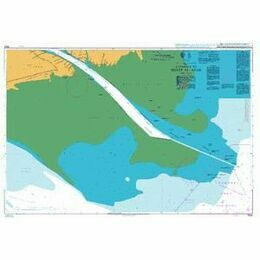 3842 Entrance to Shatt al `Arab Admiralty Chart