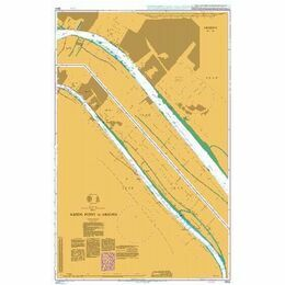 3844 Kabda Point to Abadan Admiralty Chart