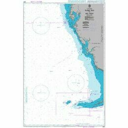 3853 Tampa Bay to Key West Admiralty Chart