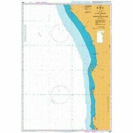 3859 Cape Cross to Conception Bay Admiralty Chart