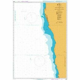 3860 Conception Point to Hottentot Point Admiralty Chart