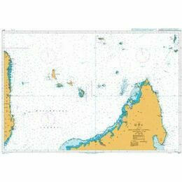 3877 Mozambique Channel, Northern Part Admiralty Chart