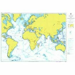 4001 A planning chart for the Atlantic and Indian Oceans Admiralty Chart
