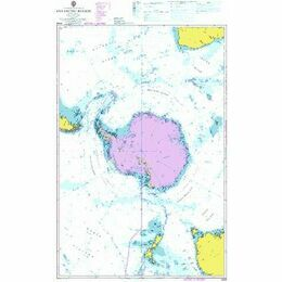 4009 Antarctic Region  - Admiralty Chart