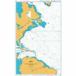 4013 North Atlantic Ocean - Western Part Admiralty Chart