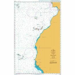 4104 Lisboa (Lisbon) to Freetown Admiralty Chart