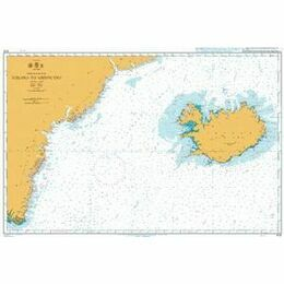 4112 Iceland to Greenland Admiralty Chart