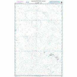 4114 Arquipelago dos Acores to Flemish Cap Admiralty Chart