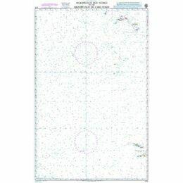 4115 Arquipelago dos Acores to the Arquipelago de Cabo Verde Admiralty Chart