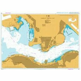 4118 Hong Kong, Harbour - Central Part Admiralty Chart