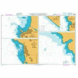 4136 Harbours on the West Coasts of Namimbia & South Africa Admiralty Chart