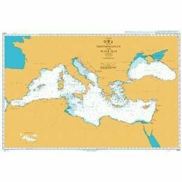 4300 Mediterranean and Black Seas Admiralty Chart