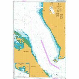 452 Al Mukha to Bab el Mandeb Admiralty Chart