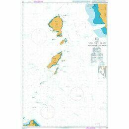 453 Jabal Zuqar Island to Muhabbaka Islands Admiralty Chart