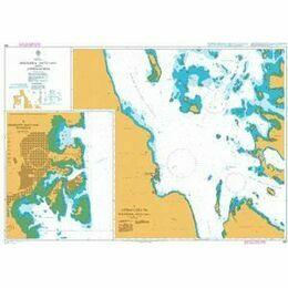460 AApproaches to Massawa (Mits'iwa) Admiralty Chart