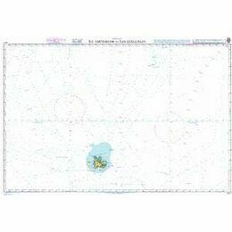 4711 Ile Amsterdam to Iles Kerguelen Admiralty Chart