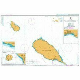 487 Saint Christopher (St. Kitts), Sint Eustatius Admiralty Chart
