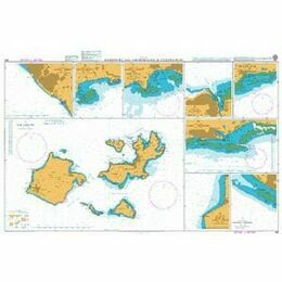 491 Harbours & Anchorages in Guadeloupe Admiralty Chart